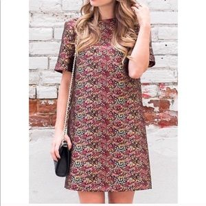 ZARA WOMEN • Tapestry Shift Dress
